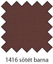 1416 sötét barna