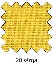 20 citromsárga